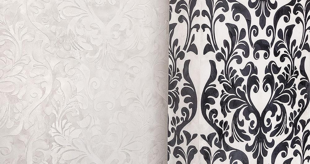 <b>Трафаретная техника &quot;Арт-фрей&quot;</b><span>В оформлении использована декоративная штукатурка VIVALDI  STUCKY от ТМ La Calce Del Brenta  </span>