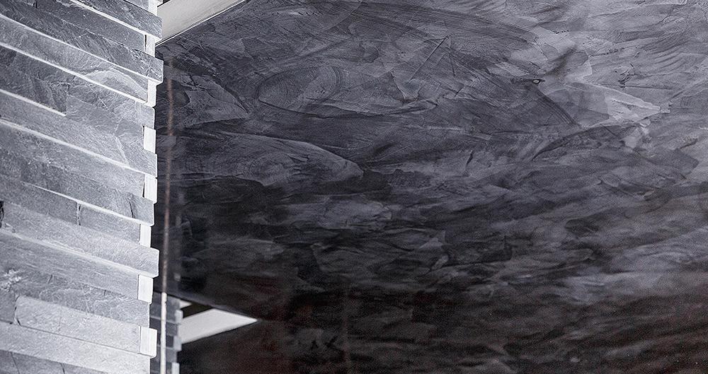 <b>Техника имитации натурального мрамора </b><span>В оформлении использована декоративная штукатурка VIVALDI STUCKY от ТМ La Calce Del Brenta</span>