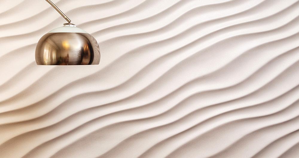 <b>3D панели из гипса </b><span>В оформлении использованы декоративные материалы от ТМ La Calce Del Brenta</span>